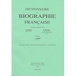 Dictionnaire de Biographie française, fasc. 123