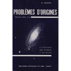 Problèmes d'origine