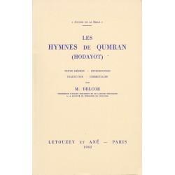 Les Hymnes de Qumrân (Hodayot)