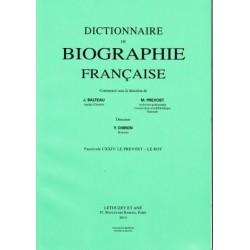 Dictionnaire de biographie française, fasc. 1-126