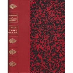 Dictionnaire de Biographie française cartonnage 1/2 chagrin