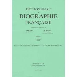 Dictionnaire de Biographie française, fasc. 127
