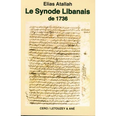 Le Synode libanais de 1736